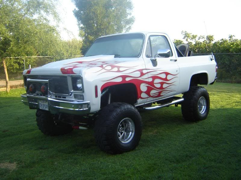 Custom 73 87 Chevy Trucks Specs 1975 K5 Blazer Yes It Is A Modified Cab Smog