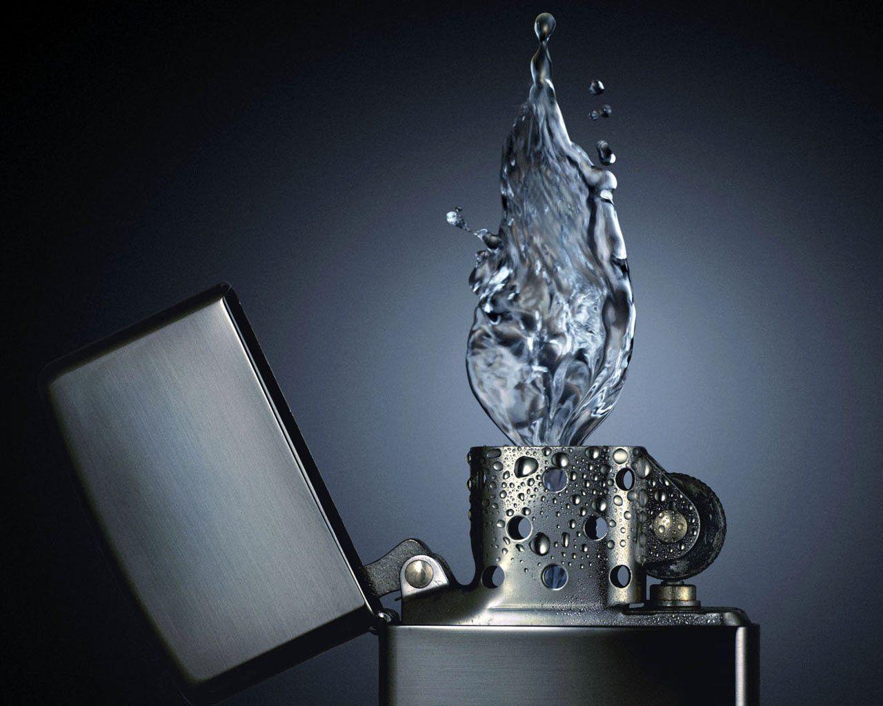 Water Lighter Wallpaper