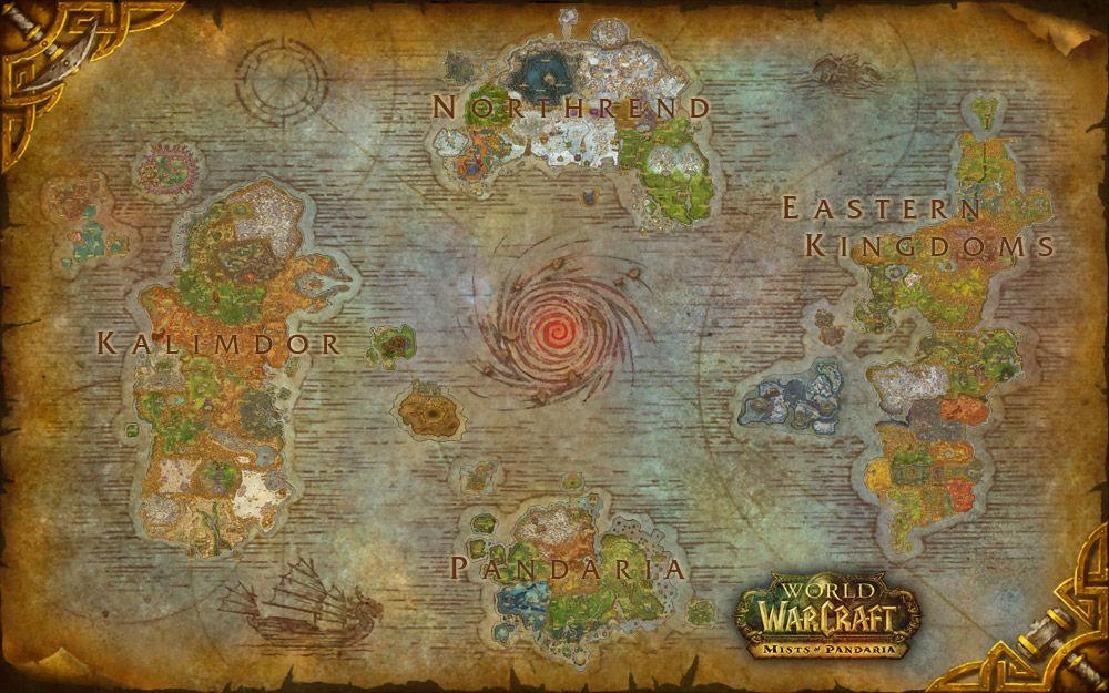 World Of Warcraft Azeroth Composite Map World Of Warcraft Map Azeroth Map Warcraft Map