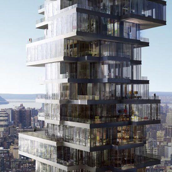 56 leonard street herzog and de meuron architecture for Arquitectura de hoteles