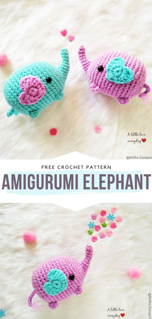 How to Crochet Amigurumi Elephant