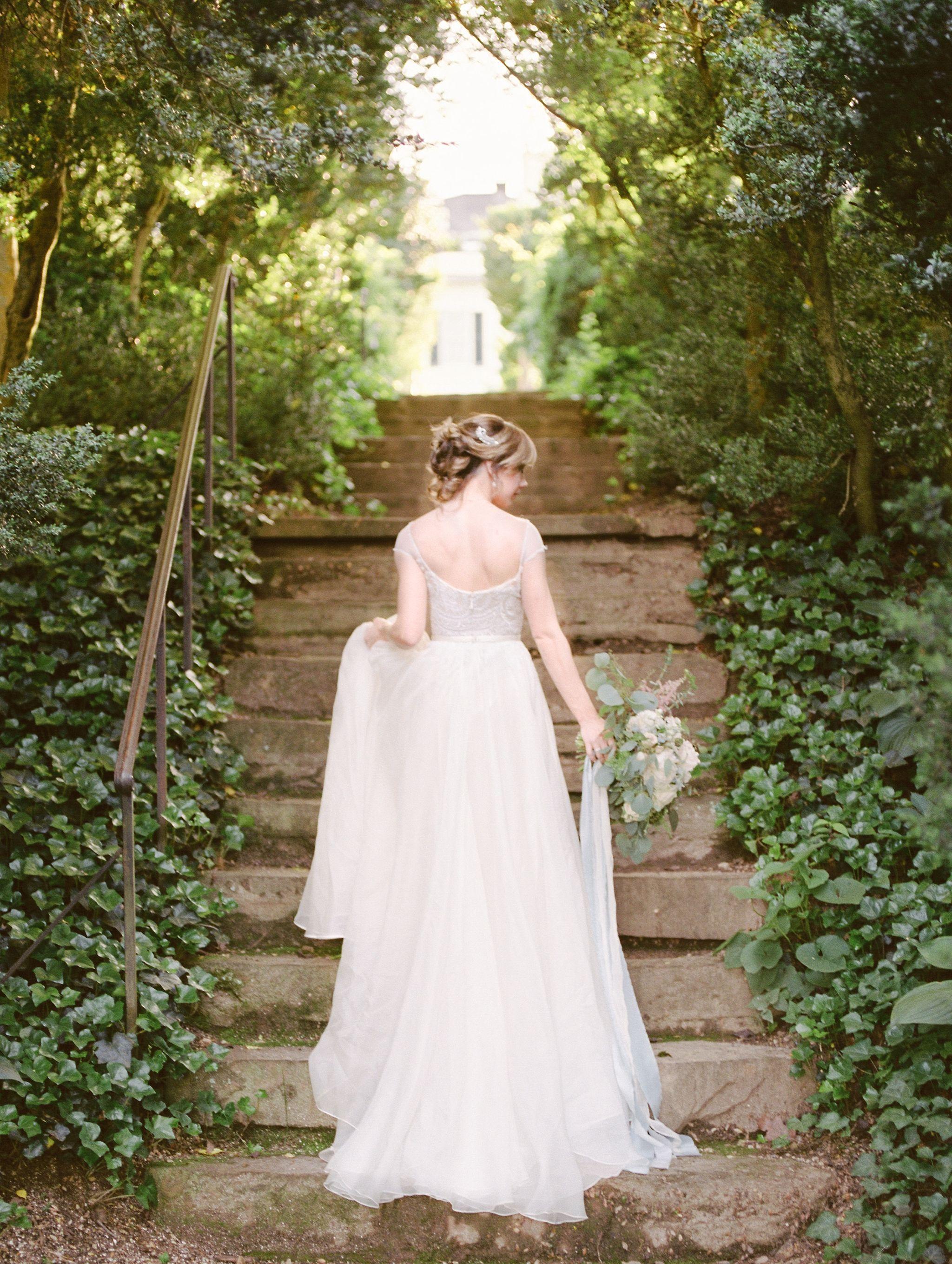 Washington, DC Fine Art Film Bridal Portraits #bridalportraitposes