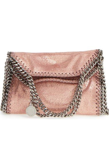 4bcfcf60ff6c Stella McCartney  Tiny Falabella  Metallic Faux Leather Crossbody Bag  available…