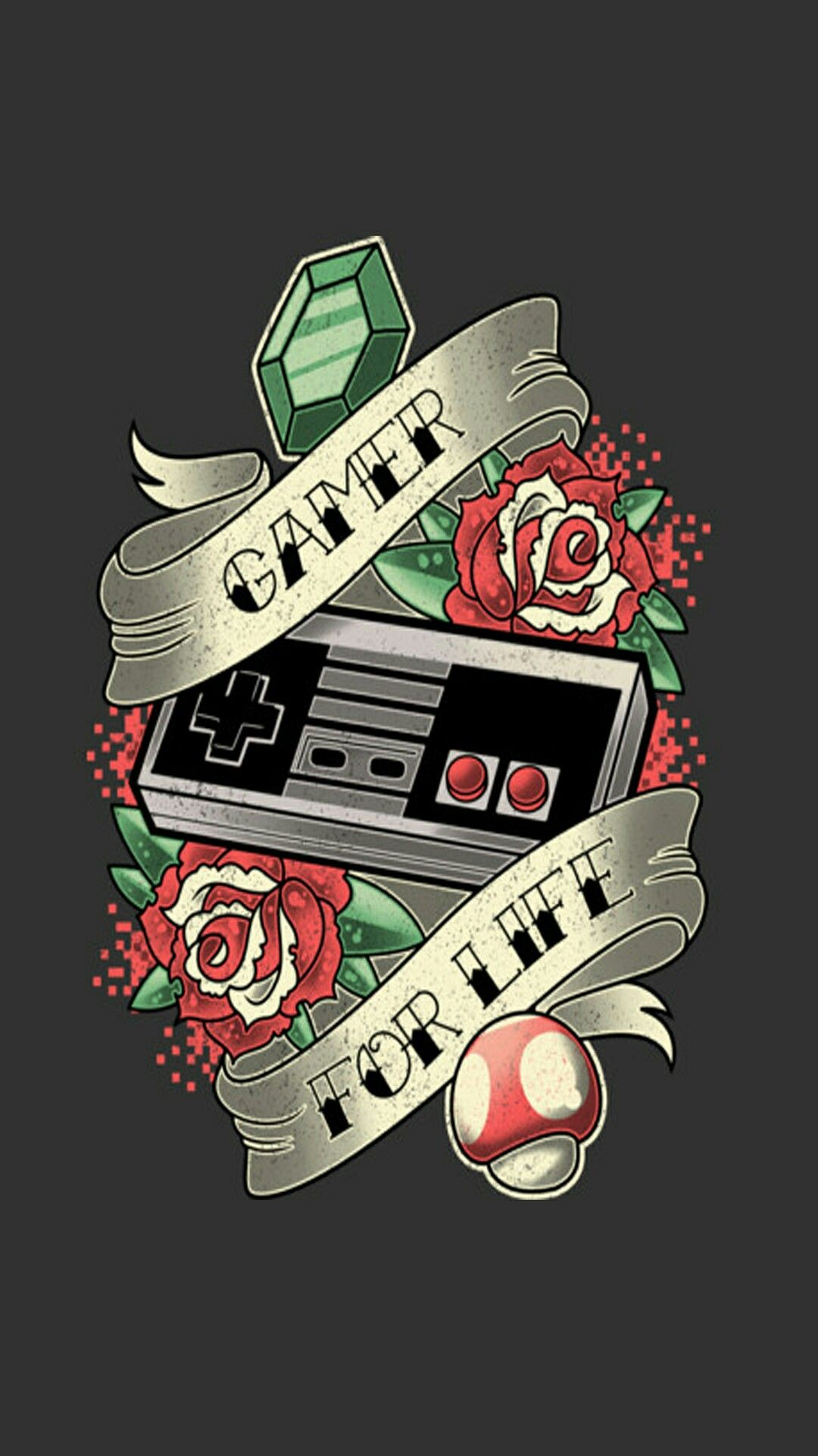 Gamer for life by Mrz_Hyde on ZEDGE