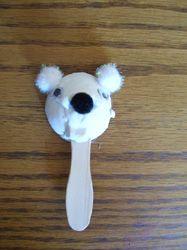 Polar Bear Egg Carton Puppet