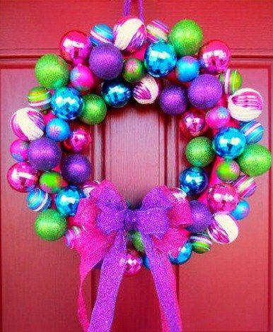 Christmas bauble wreath diy is super easy christmas bauble wreath diy is super easy the whoot solutioingenieria Choice Image
