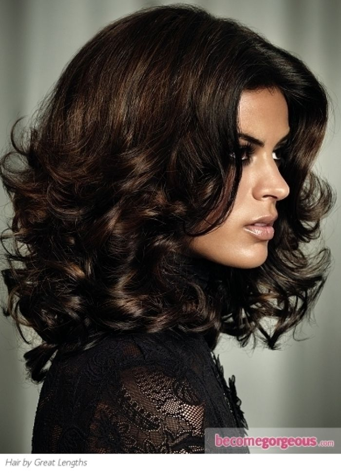 dark chocolate brown hair color