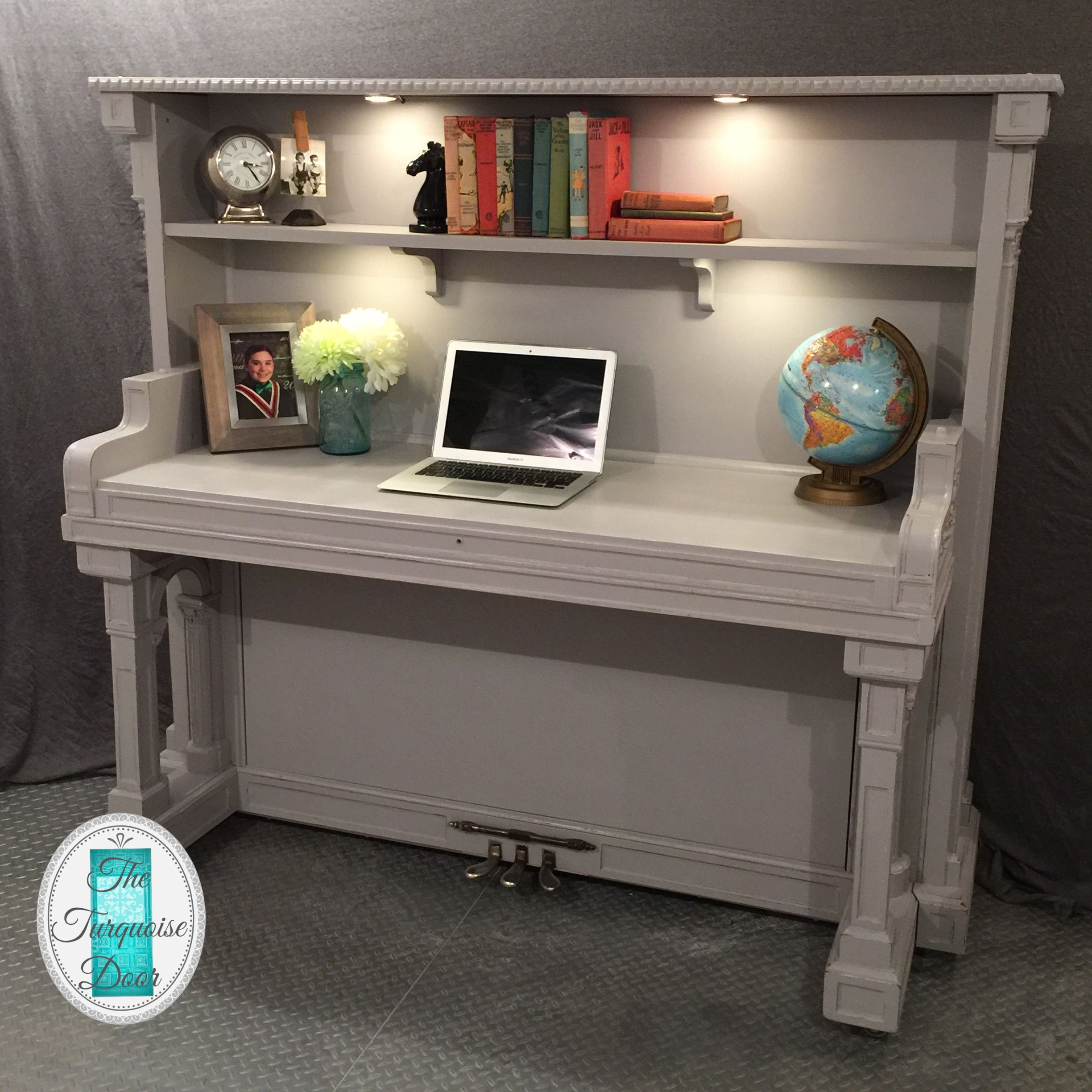 The Piano Desk Transformation Is Complete!