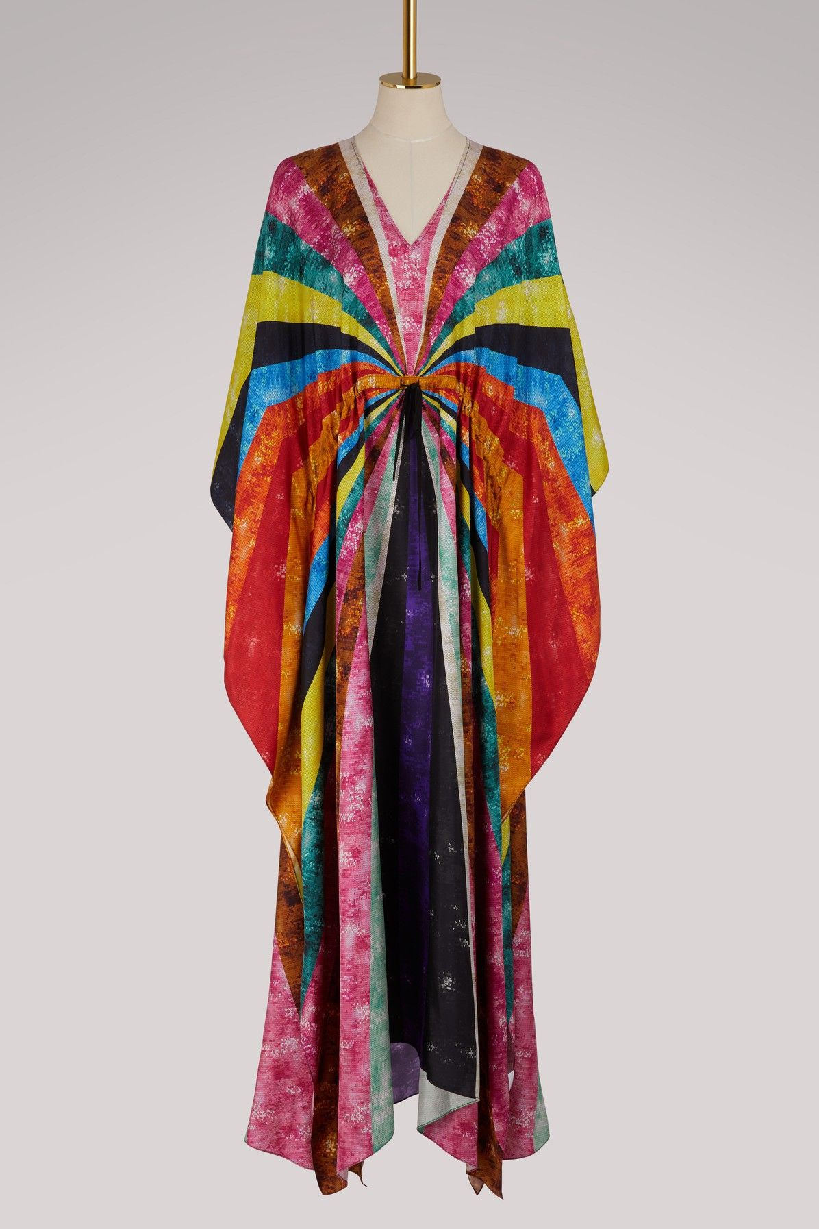 Asso silk kaftan Mary Katrantzou