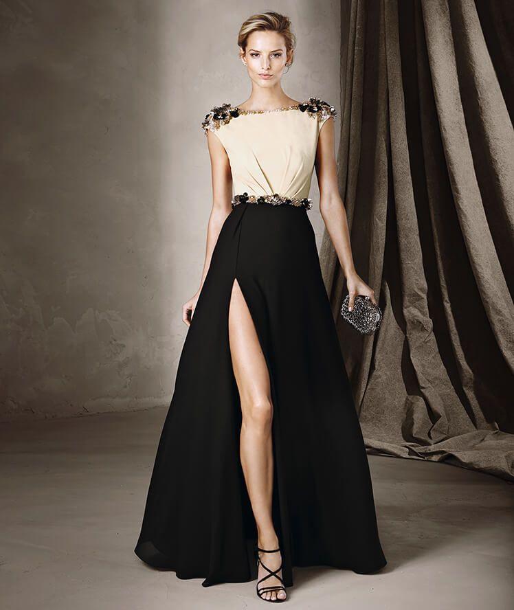 CLARA - Zweifarbiges Kleid von Pronovias | Cocktailkleider ...