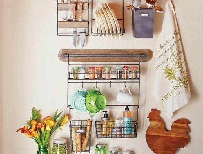 Le Rangement Mural, Comment Organiser Bien La Cuisine?