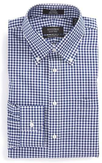 499579b152da4 Nordstrom Traditional Fit Non-Iron Gingham Dress Shirt in 2019 ...