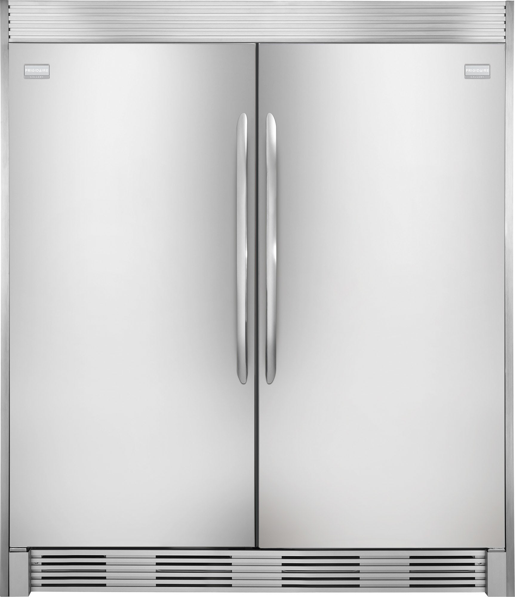 Frigidaire Frrefr1 Side By Side Column Refrigerator Freezer Set With 32 Inch Refrigerator And Stainless Refrigerator Frigidaire Gallery Refrigerator Freezer