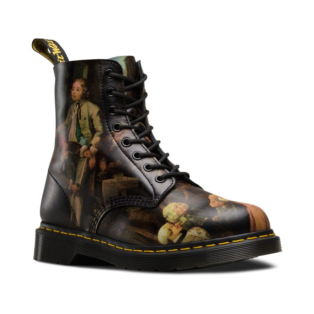 dr martens pascal in multi hogarth renaissance a fancy feet pinterest dr martens. Black Bedroom Furniture Sets. Home Design Ideas