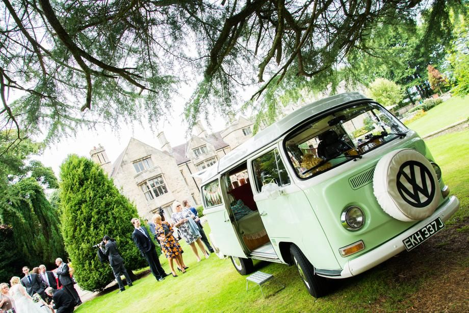 Vintage VW Campervan from Darlington County Durham United Kingdom Available for Hire for Garden Party