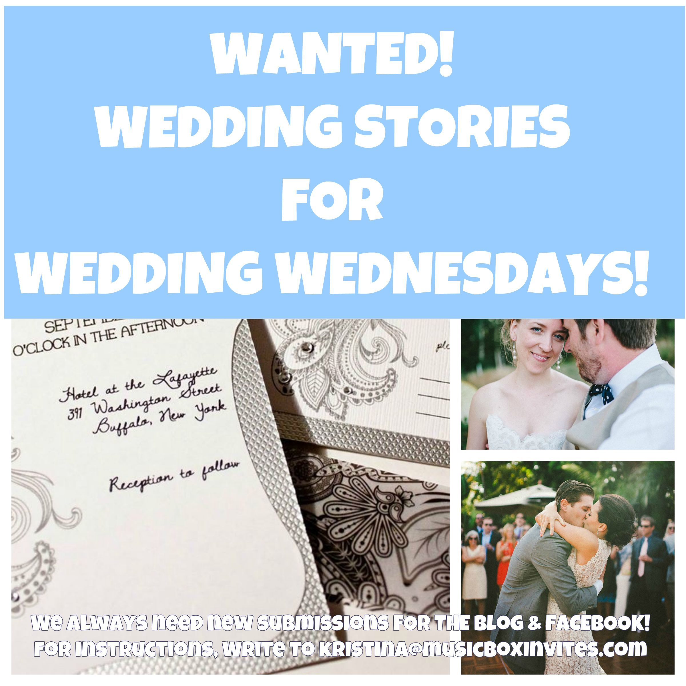 We Love To Feature Real Weddings Every Wednesday On The