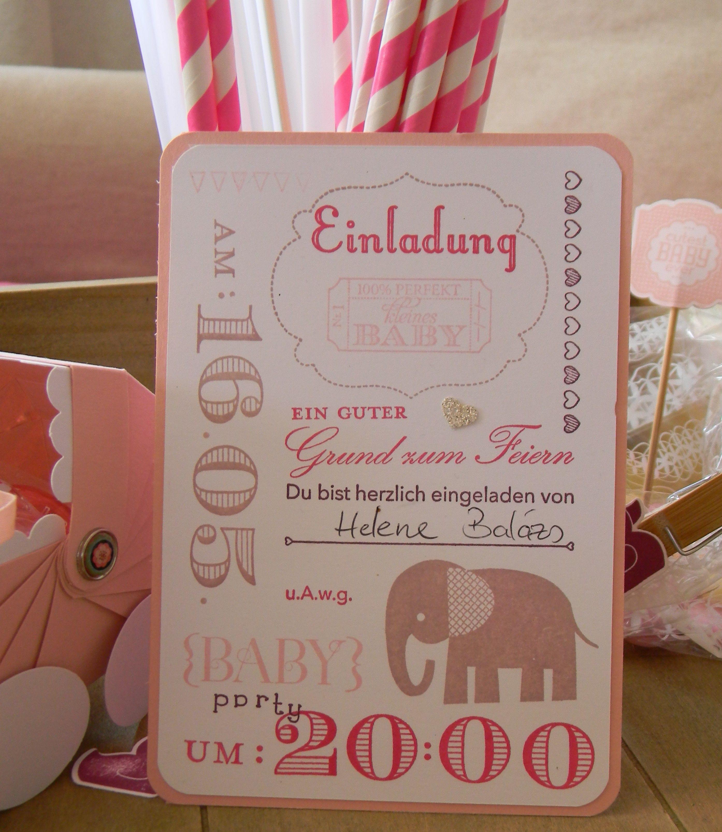 Einladung Zu Meiner Baby Party U003d)