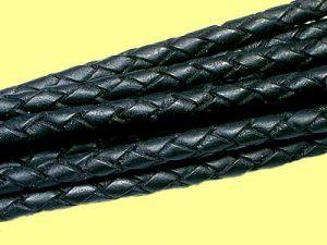 Feines Lederband zur Schmuckherstellung mattes Design