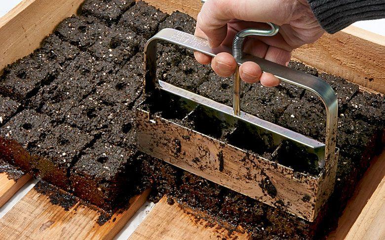 What's That? Soil Block Maker | Rodale's Organic Life