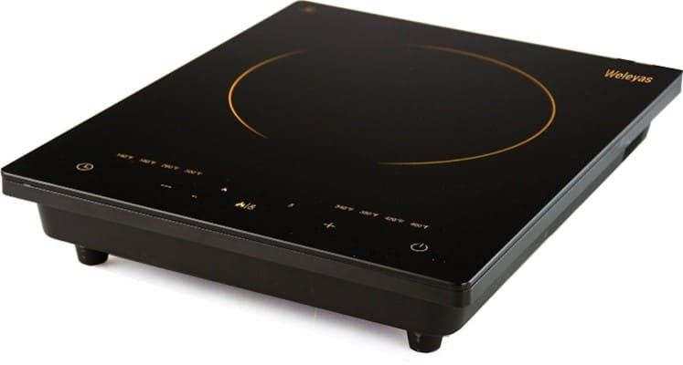 Weleyas Portable Electric Induction Cooktop 1800w Induction Cooktop Cooktop Single Burner