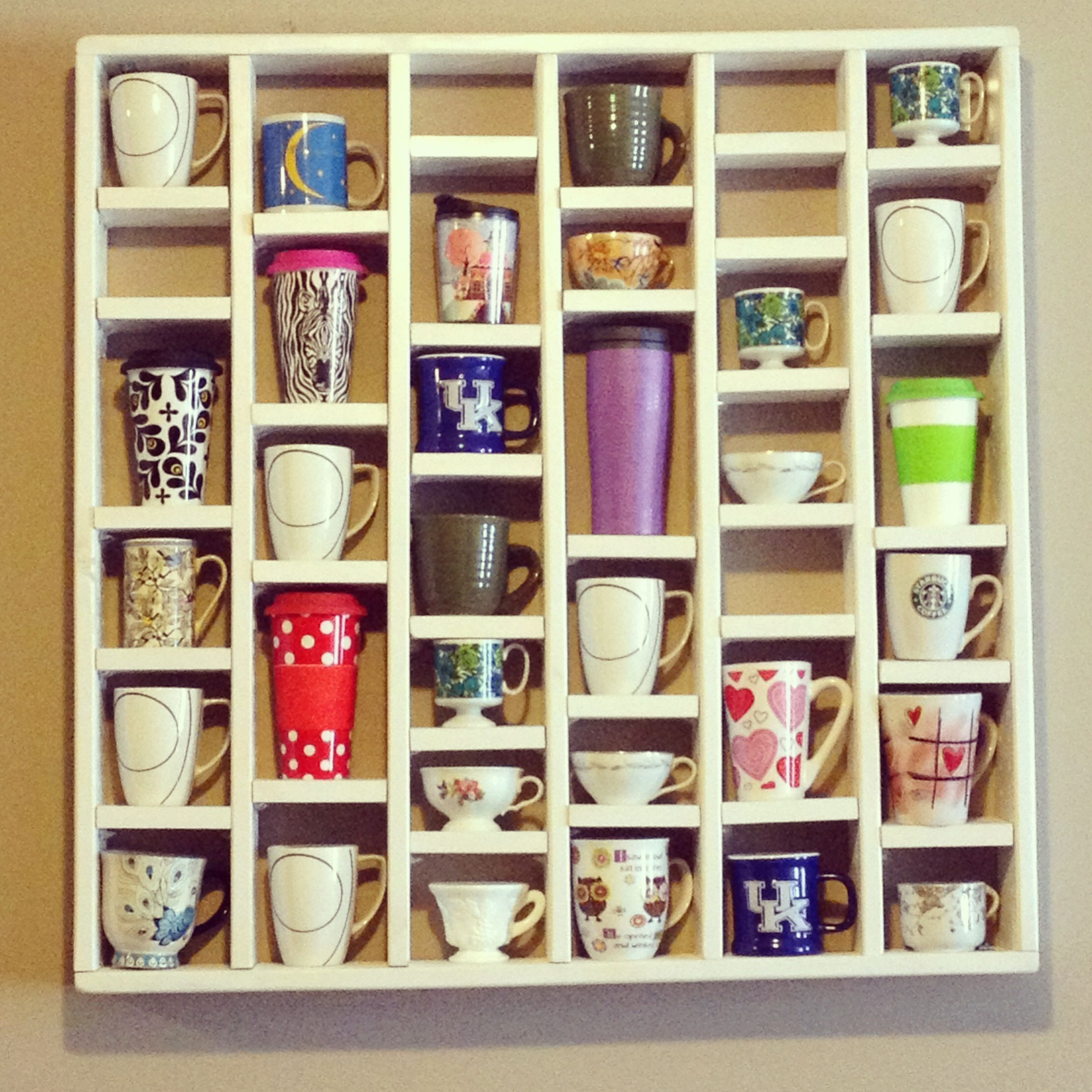 Coffee And Tea Cup Shelving For The Home Pinterest