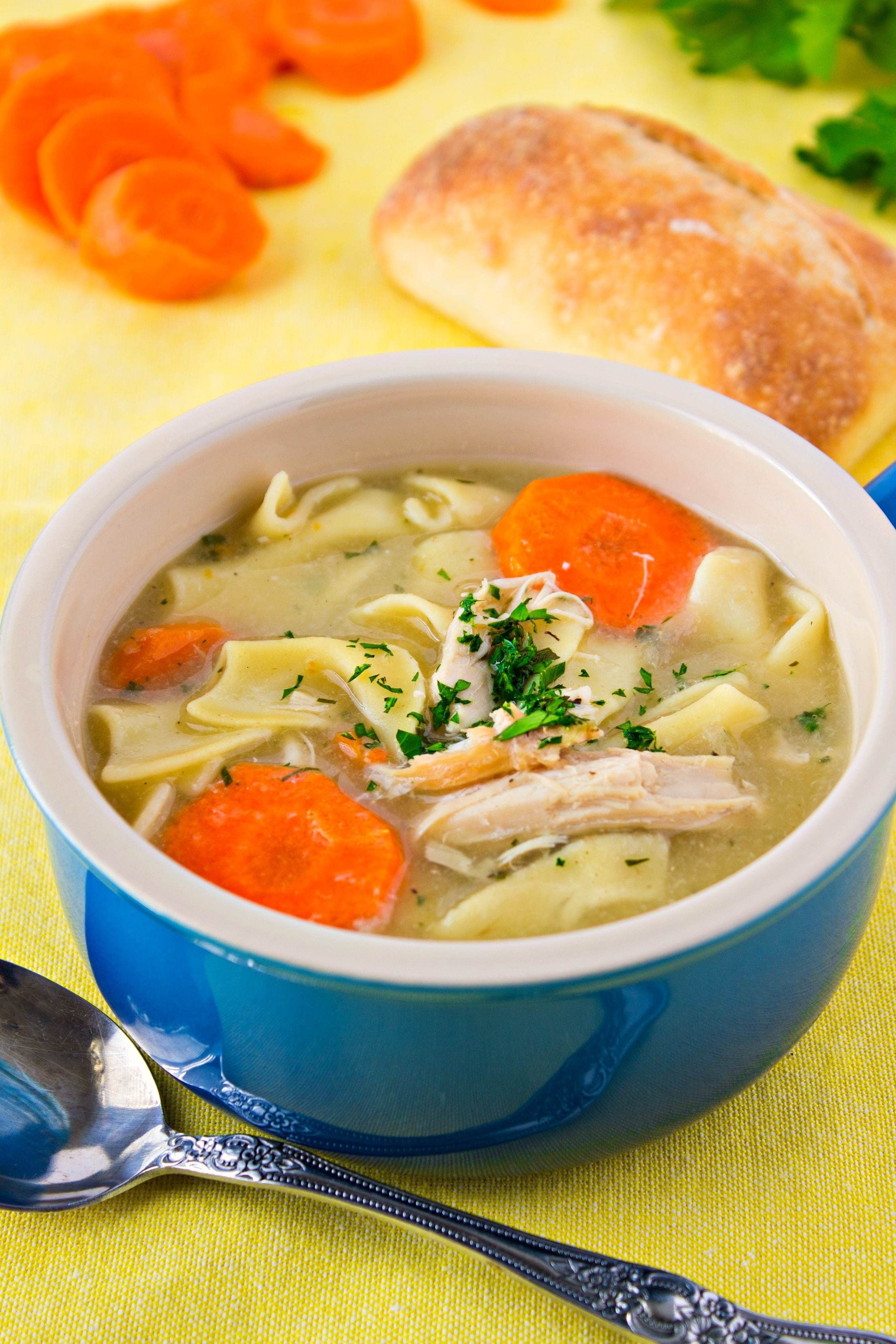 Turkey Noodle Soup  A Super Easy Turkey Noodle Soup