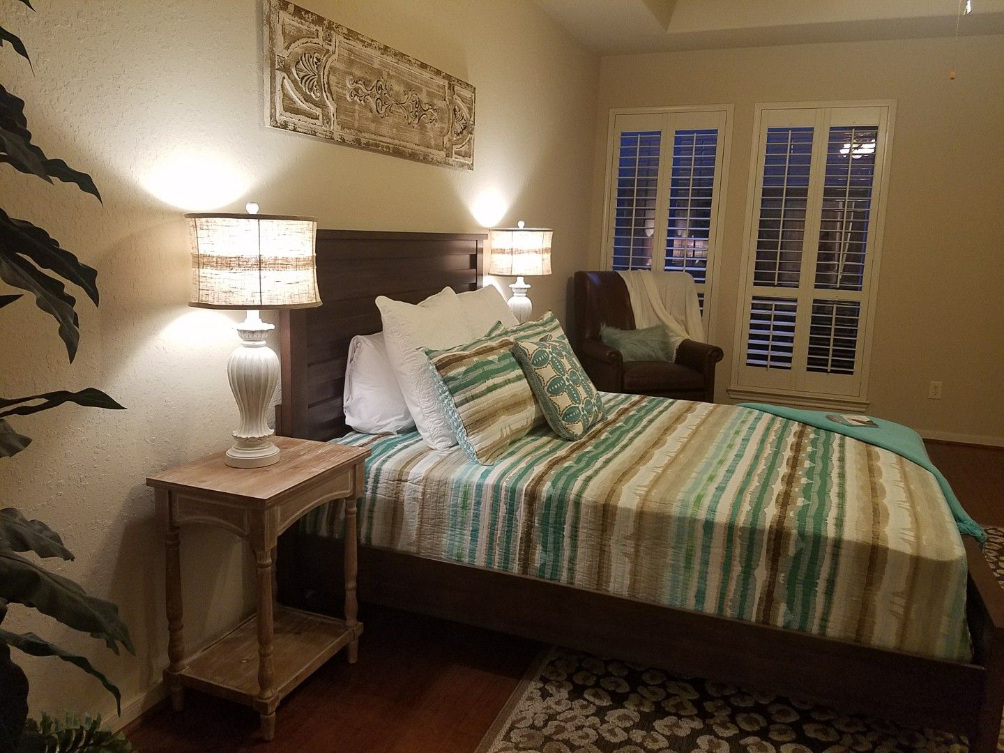 Simple Solutions Home Staging Master bedroom, Home
