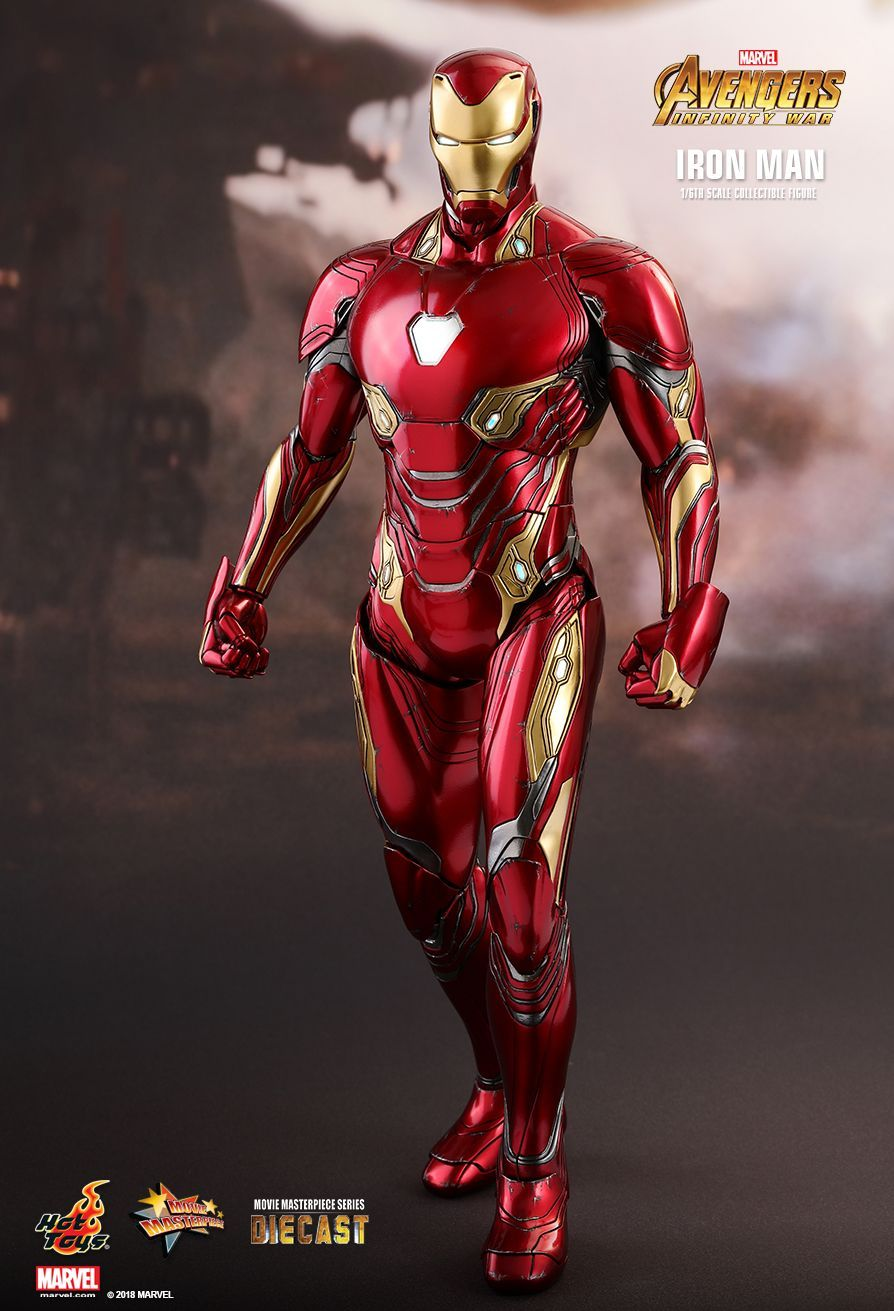Avengers Infinity War Superhero Iron Man Tony Stark Manufacturing Helmet Scene Version Pvc Action Figure Collectible Model Toy Buy One Give One Action & Toy Figures