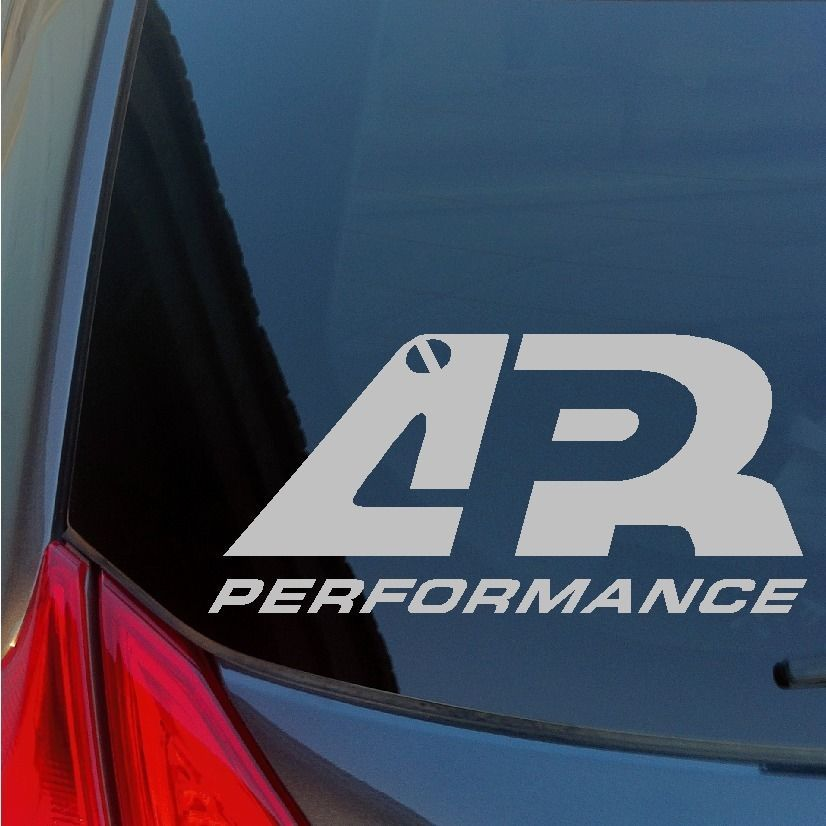 Two APR Performance Vinyl Stickers Wing Diffuser Kit GT3000