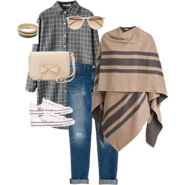 cloudy day pink and grey by valentina-mur on Polyvore featuring Mode, Burberry, Rebecca Minkoff, Converse, Charlotte Russe, Jennifer Lopez and Witchery