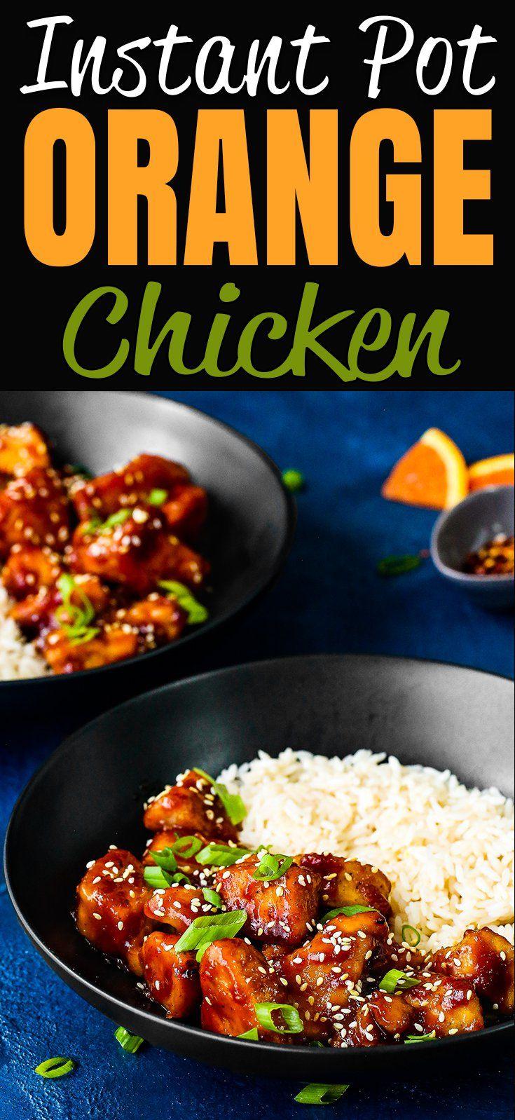 Easy Instant Pot Orange Chicken Recipe Instant Pot