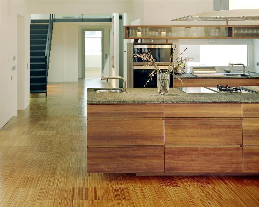 bambeau® Industrieparkett 20 aus Bambus Küchen Pinterest Boden - küche in dachschräge
