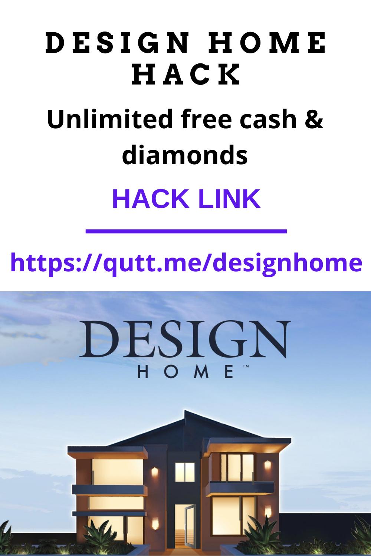 Hack Design Home Unlimited Cash And Diamonds No Human Verification 2021 Design Home Hack House Design Games House Design