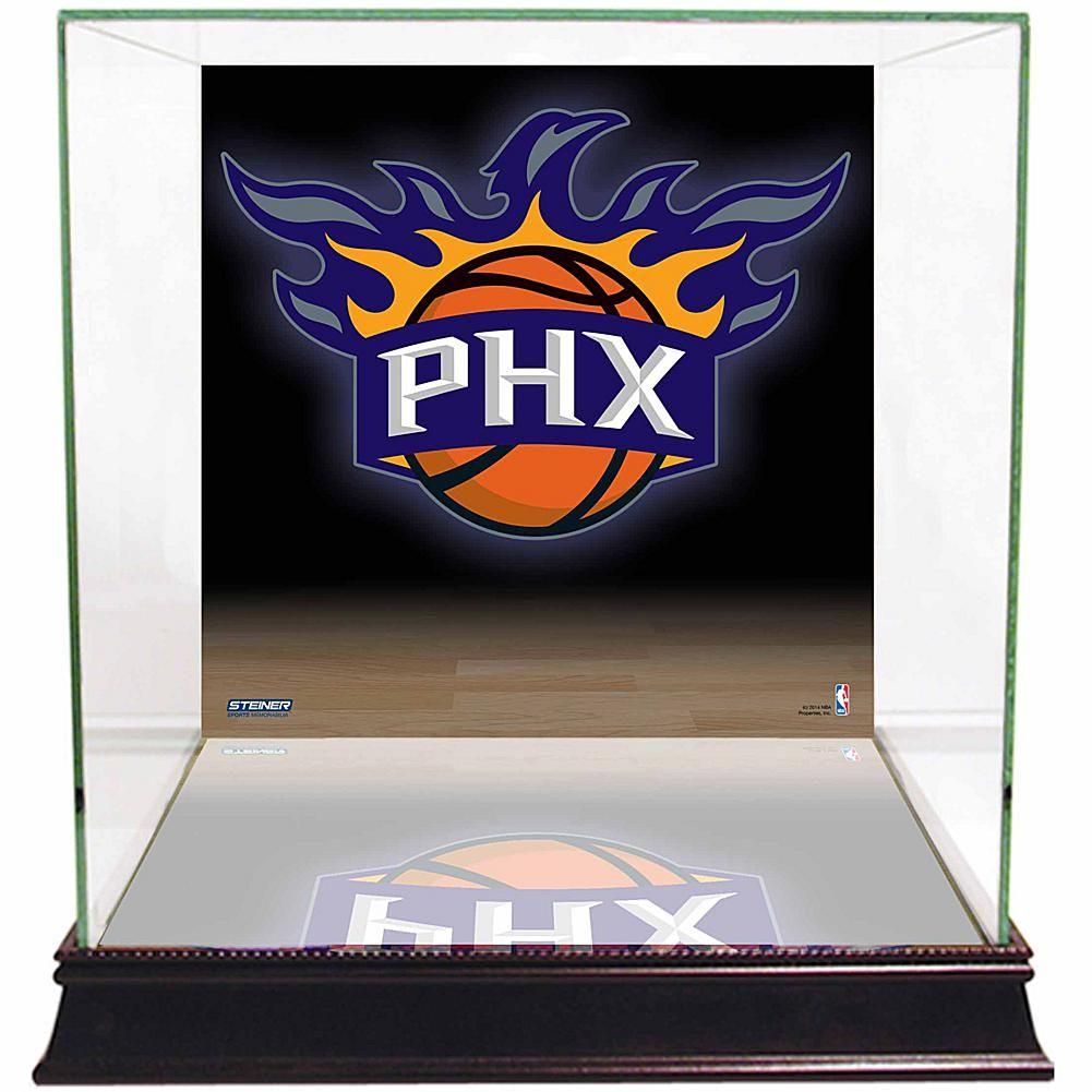 Steiner Sports Glass Basketball Display Case Phoenix