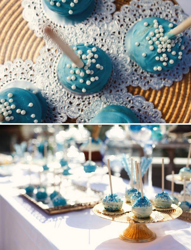 272328c81b6c Bridal shower idea. Love the doilies