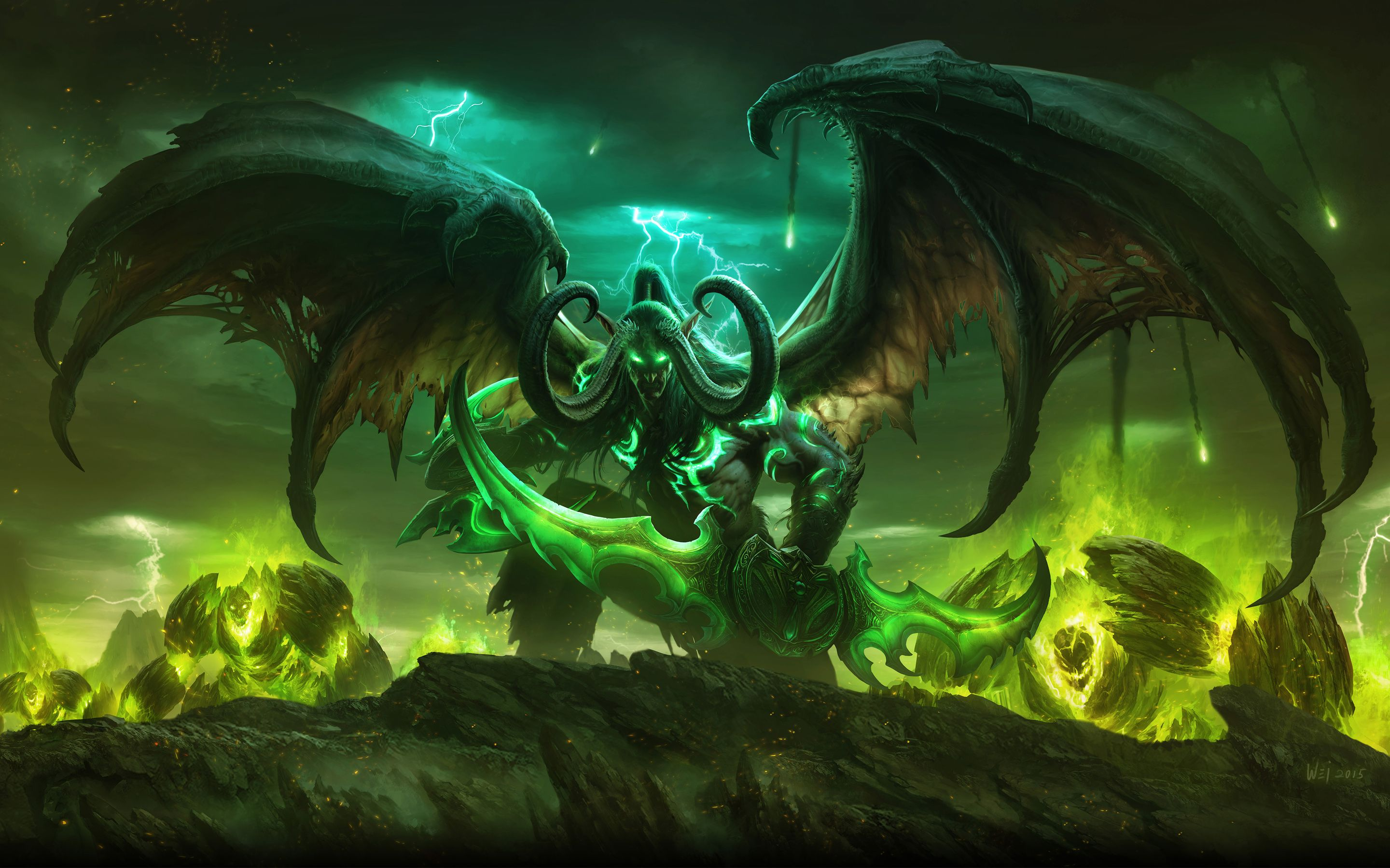 World Of Warcraft HD Wallpapers Backgrounds Wallpaper