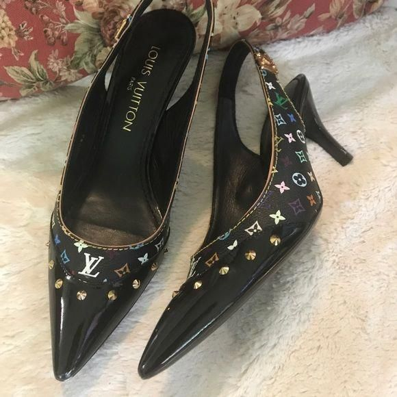 a8c998f4c6d Spotted while shopping on Poshmark  Gorgeous AUTHENTIC Louis Vuitton Heels!   poshmark  fashion  shopping  style  Louis Vuitton  Shoes   Louisvuittonhandbags