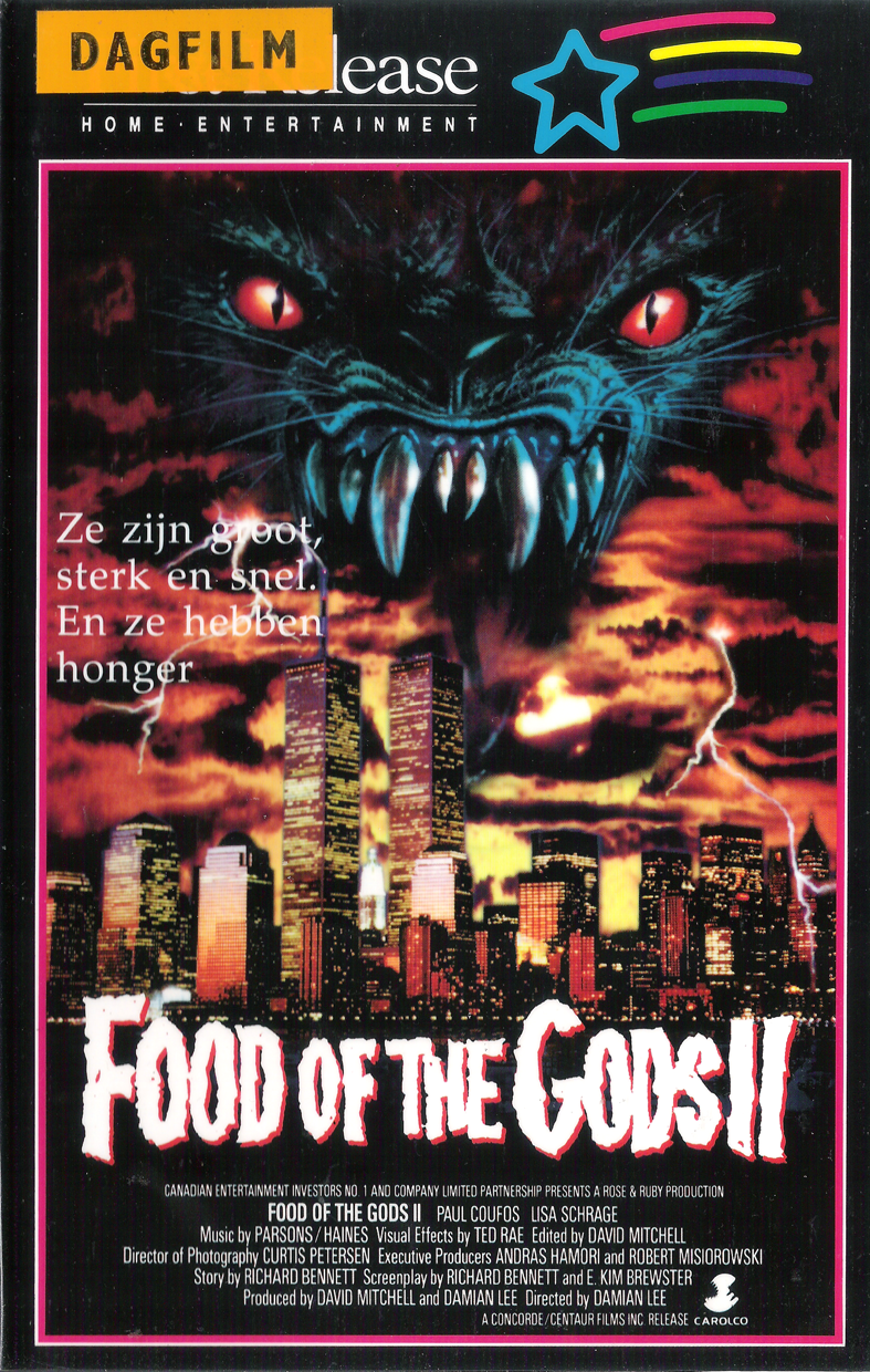 Food Of The Gods 2 1989 Horror Posters Horror Movie Posters