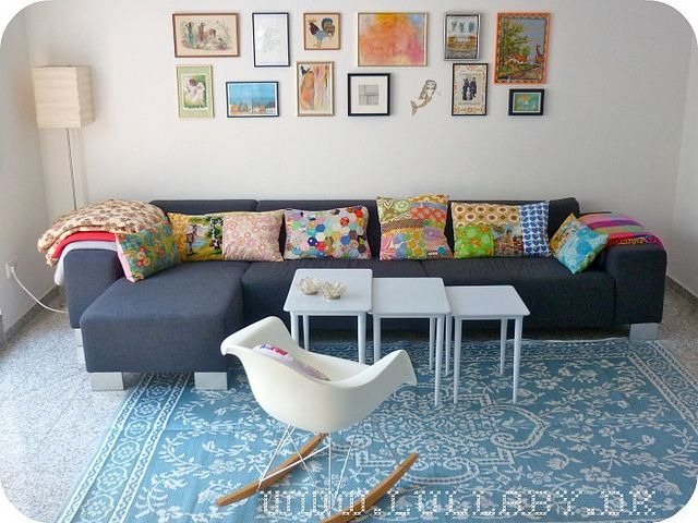 hmmm. if we can't decide on a living room color, maybe we should go for all of them.