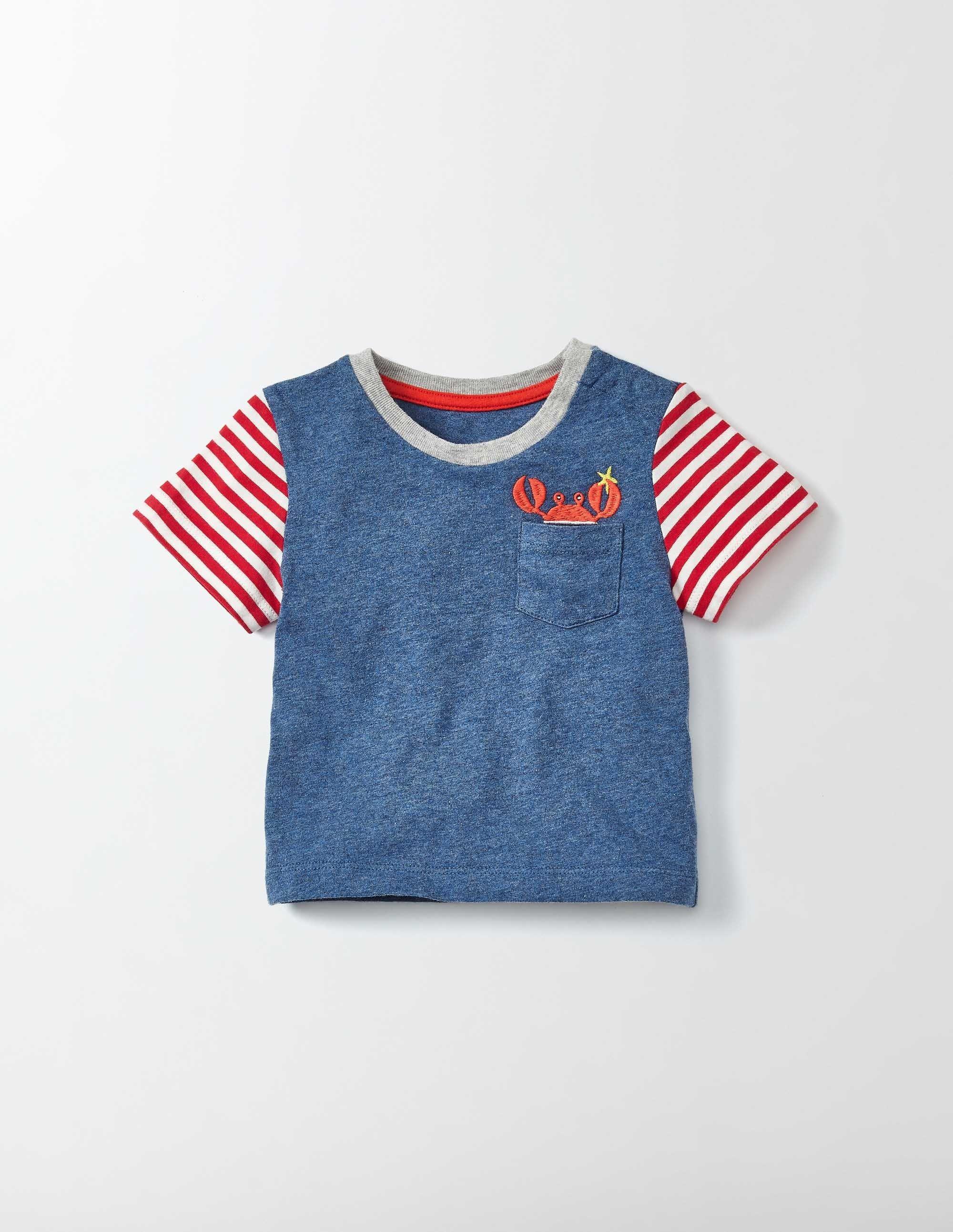 Shirt mit witziger Tasche
