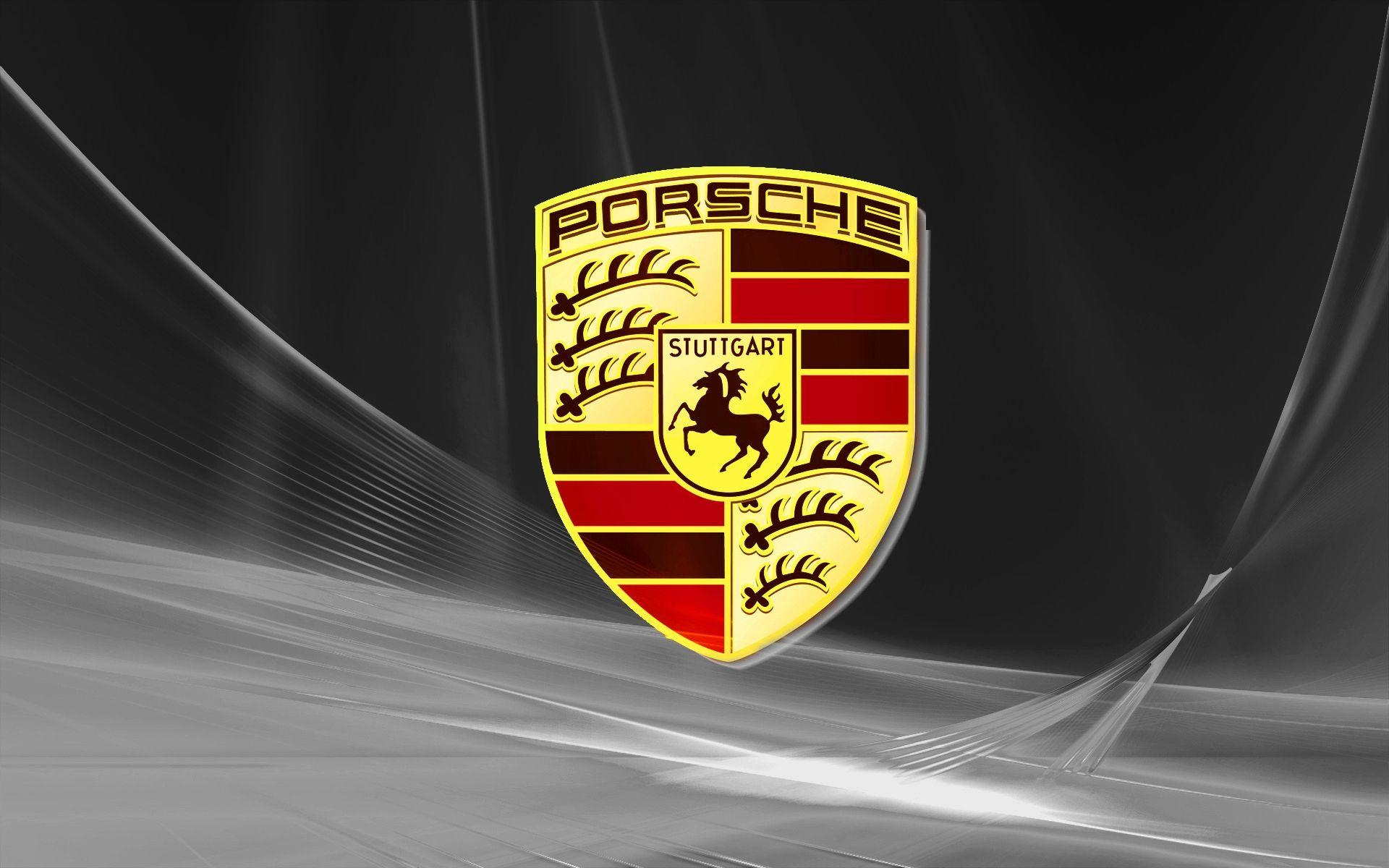 Free Download Porsche Logo HD Wallpaper Widescreen