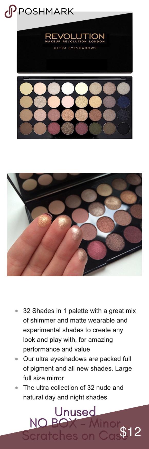 2/20 Makeup Revolution Ultra Eyeshadow Palette Never used