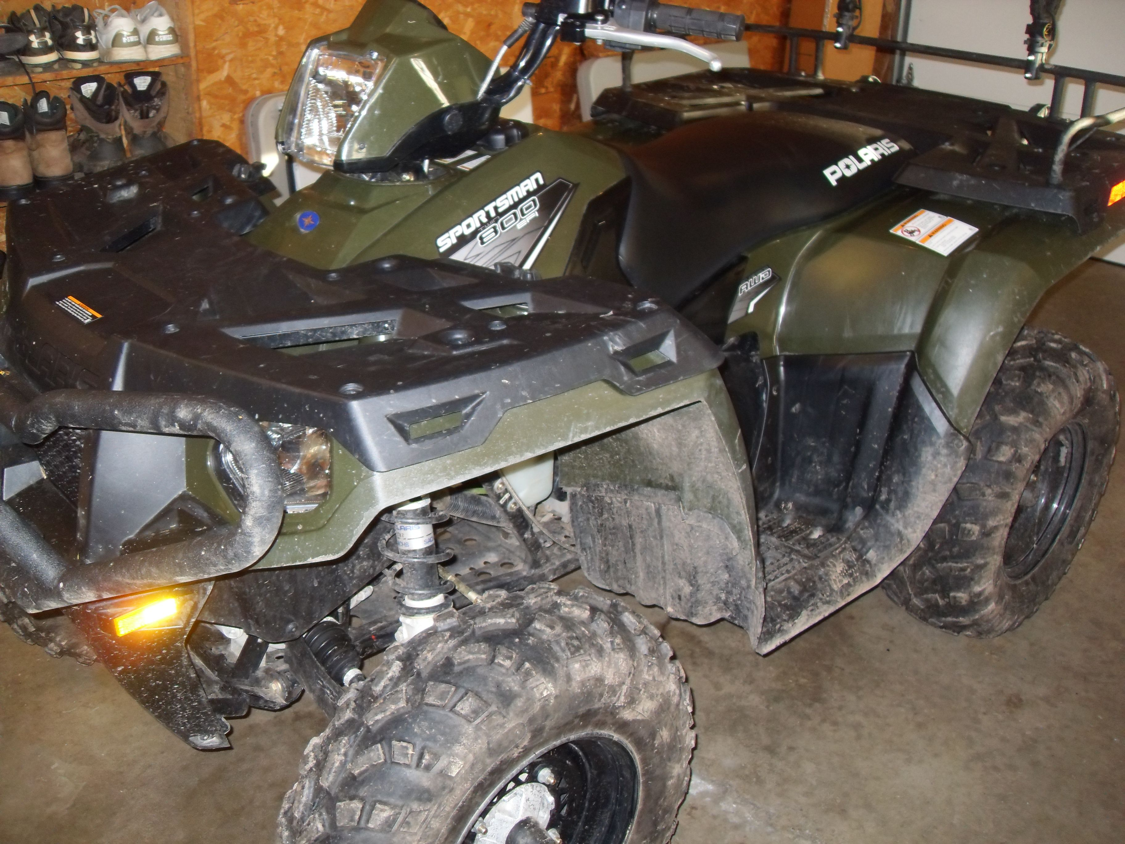 How to grease a polaris sportsman