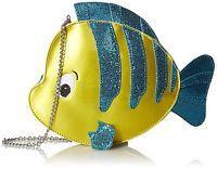 NWT Danielle Nicole Disney Little Mermaid Fish Flounder Crossbody Purse Handbag   | eBay