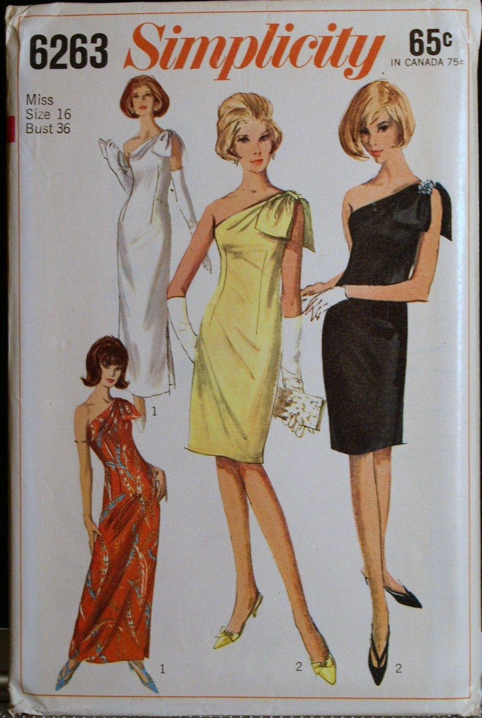 Evening Gown Simplicity Patterns