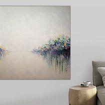 Płótno 3d 100x100 Cm Obraz Farbami Akrylowymi Dodatki Plakaty
