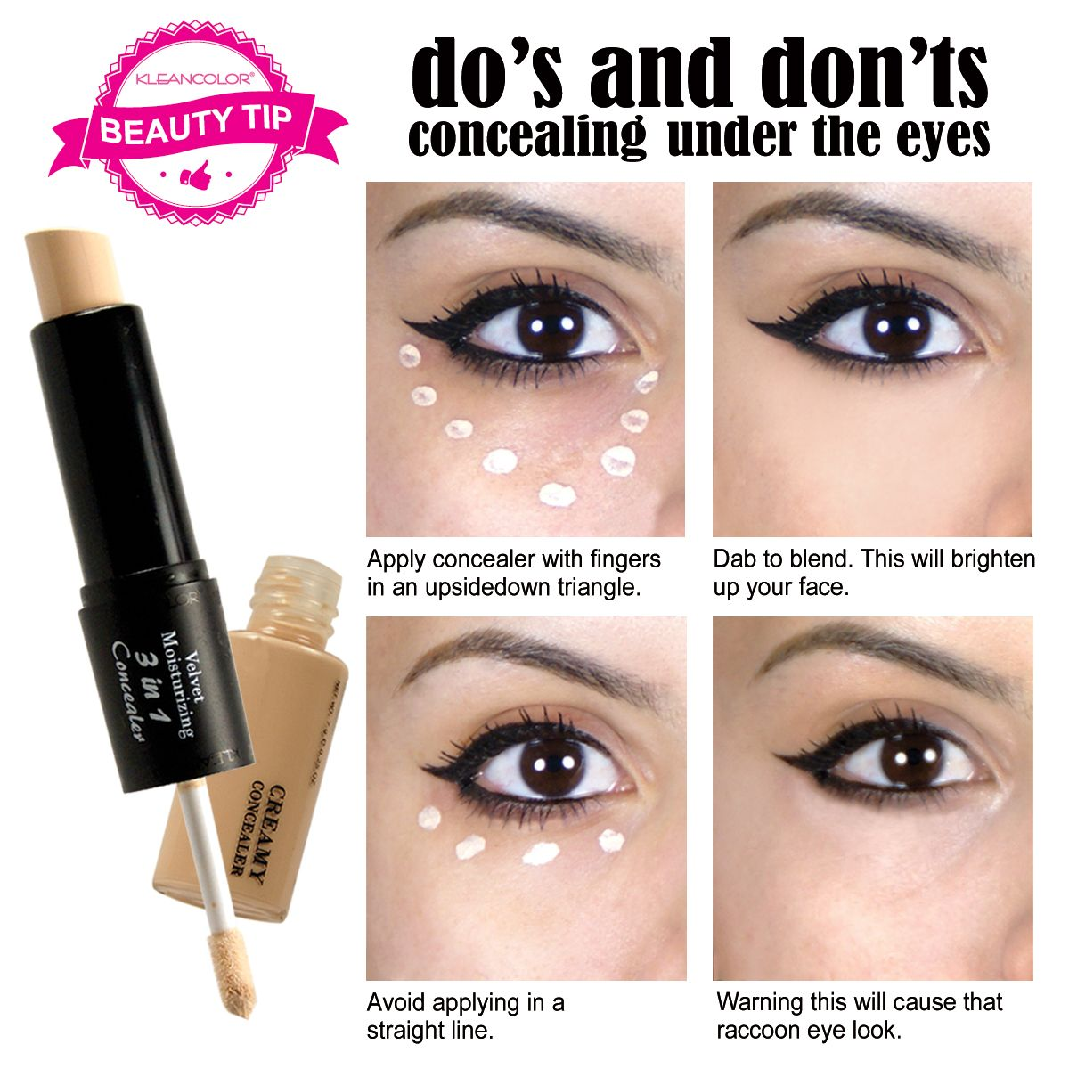How to apply concealer Beauty Pinterest Face