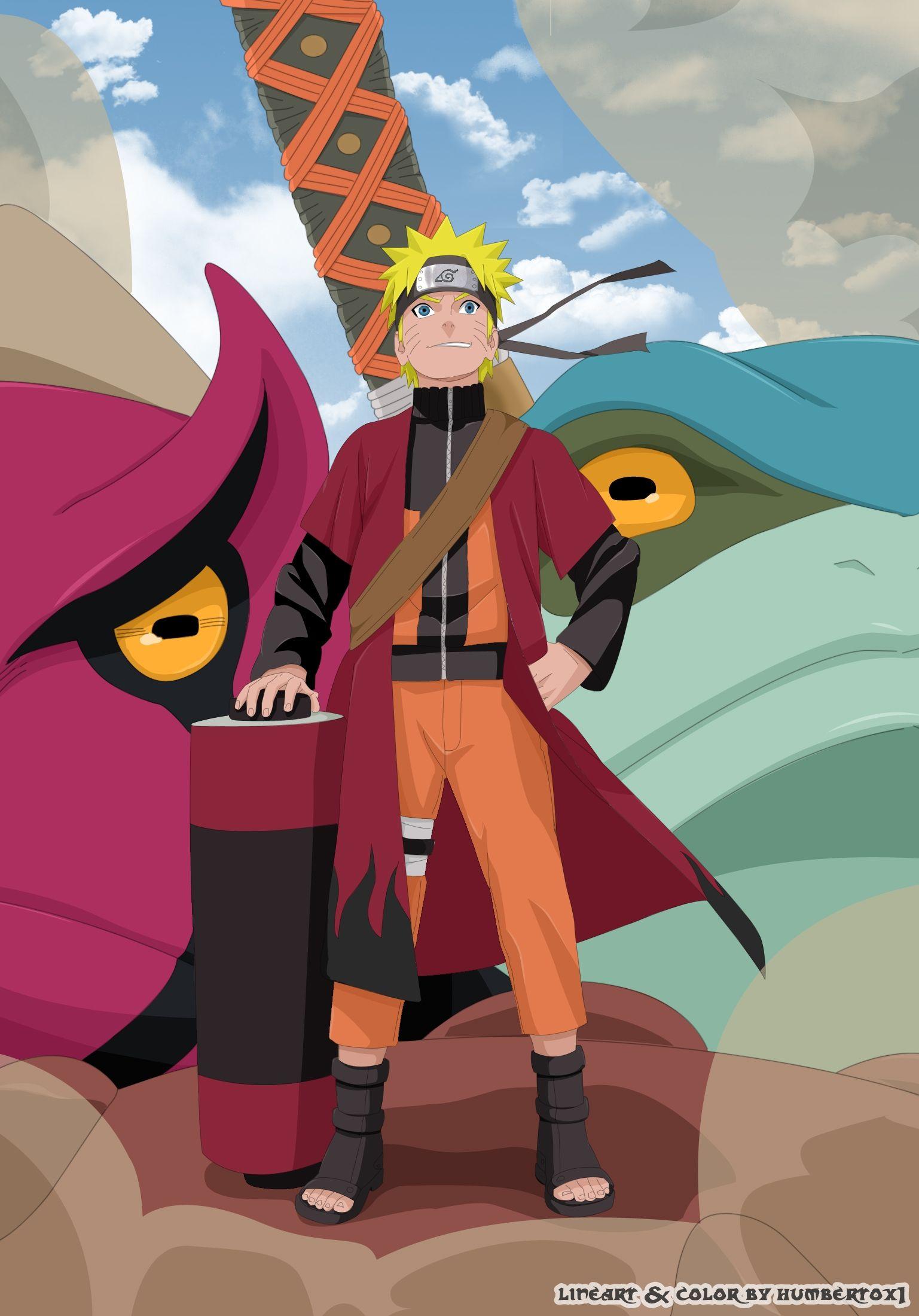 Naruto Sage Mode Naruto Uzumaki Naruto Shippuden Characters Wallpaper Naruto Shippuden