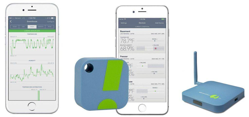 Sensorpush Review Monitor Your Van Or Rv Temperature And Humidity Remotely Faroutride Van Life Van Conversion Build Diy Van Conversions