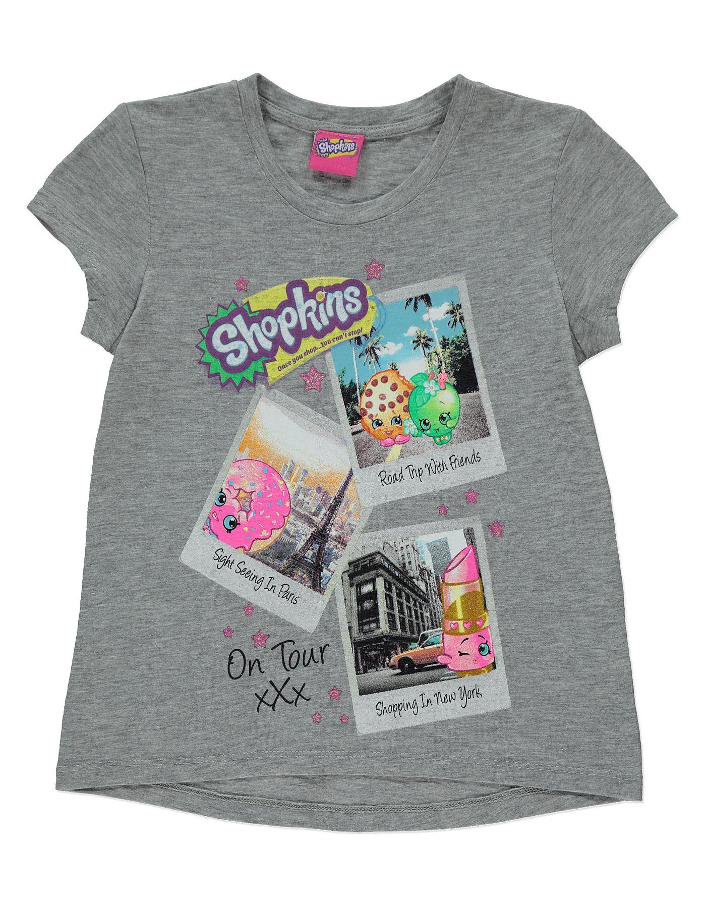 Black t shirt asda - Shopkins T Shirt